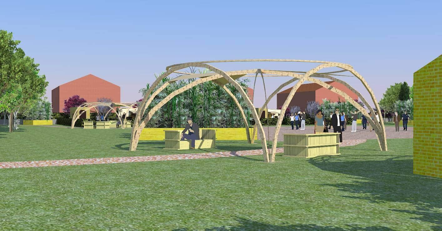 temporary green un parco temporaneo a ca'savio